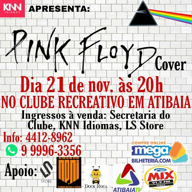 Apresentação do Pink Floyd Cover em Atibaia